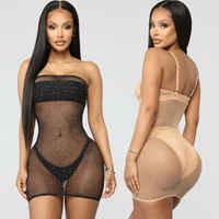 S-XL Sexy Women Mesh Sheer See Through Dress Bikini Cover Up Swim Bathing Suit
