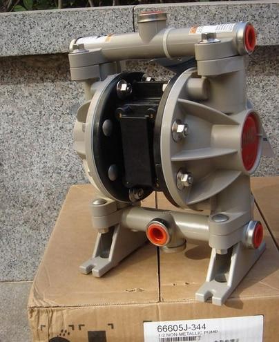 ARO Ingersoll Rand Pneumatic Diaphragm Pump 1/2 inch Model 66605J-344