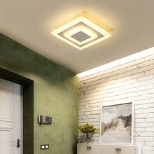 Светодиодный Потолочные светильники lampara techo dormitorio затемнения для поверхностного монтажа флеш для Кухня ванная комната, коридор изучают современные светодиодные плафоны