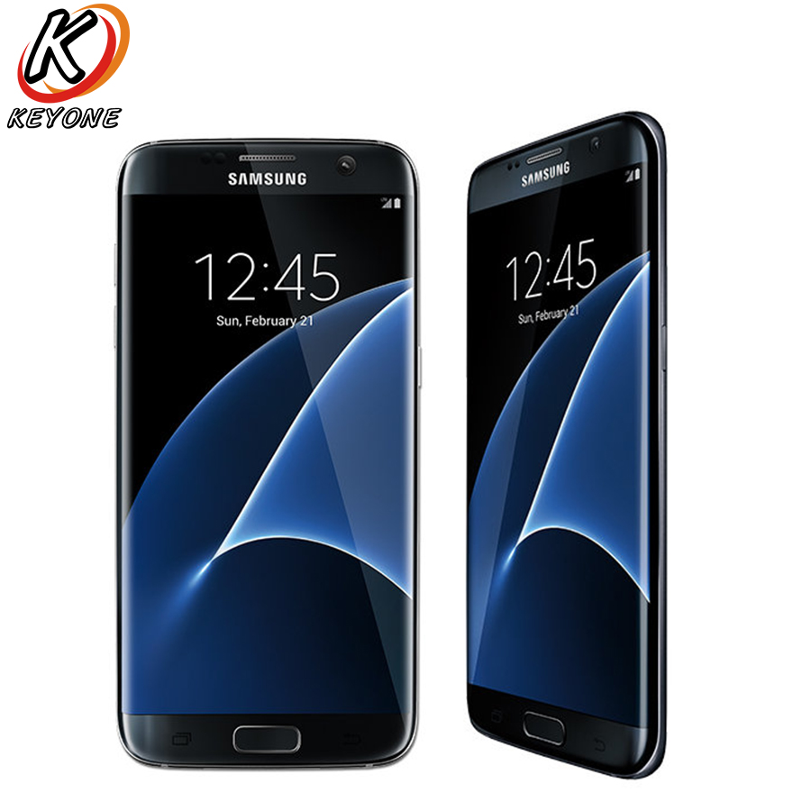 Original Nouveau Verizon Version Samsung Galaxy S7 Bord G935V Mobile Téléphone 5.5 Quad Core 4 gb RAM 32 gb ROM 12MP Android Téléphone Intelligent