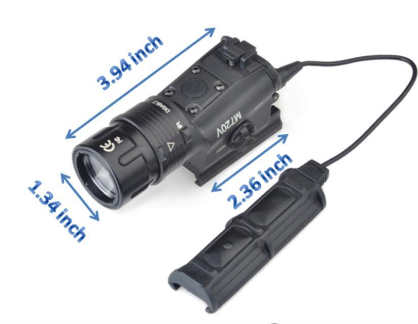 Wadsn airsoft surefir m720v scout luz estroboscópica