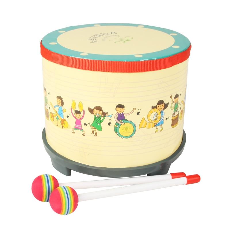 """Музичні інструменти стукають барабан 8 """"дитячими музичними іграшками"""
