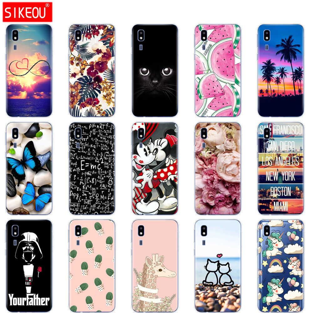 For Samsung Galaxy A2 Core Case 2019 case Silicon Soft TPU phone Back Cover For Samsung A 2 Core A2Core A260F 5.0'' coque bumper