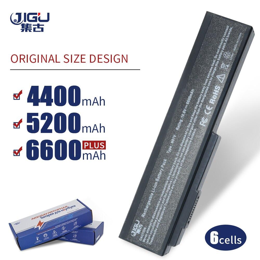 JIGU 6 CELLULES pour Ordinateur Portable Batterie A32-M50 A33-M50 A32-X64 Pour Asus N61J N61Ja N61jq N61jv N61For M50 M50V M50Q M50S N43 x57 X57VN