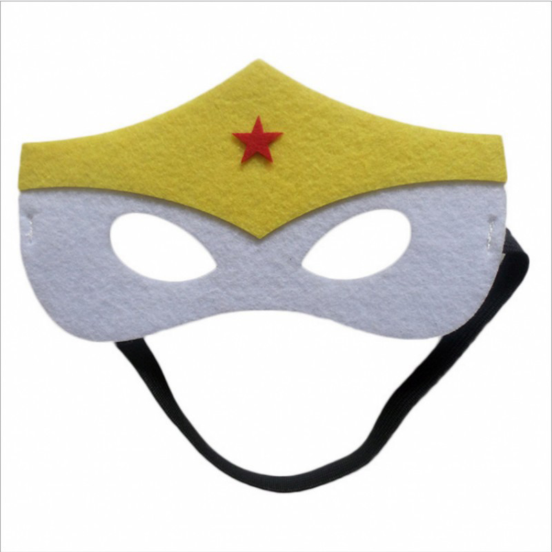 Image 3 - 31pcs Super Hero Masks for Kids Halloween Christmas Birthday  Party Dress up Costume Cosplay Mask Kids Children Party Favor GiftBoys  Costume Accessories