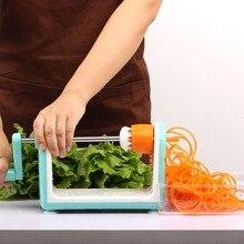 Gemüseschneider Runde Mandolinenschneider Kartoffel Julienne Karottenreibe Käsehobel Edelstahl Klingen Küche Werkzeug