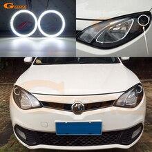 Для MG MG6 2010 2011 2012 2013 smd led Ангельские глазки комплект дневной свет отлично Ультра яркое освещение DRL