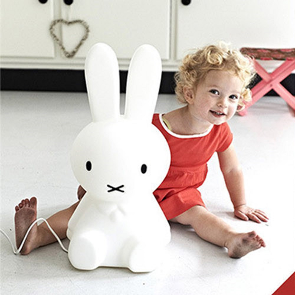 2017 Baby Bed Room Big Rabbit 50cm Night light Anti-fall Children Lamp Christmas Gift Bedside Decoration Kids Lovely Lights ins hot cute rabbit lighting rabbit child room decoration lamp korean style baby accompany night light free shipping