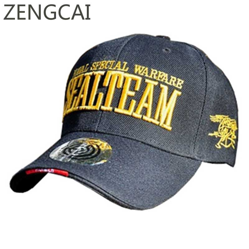 US Navy Seals Team Dad Hat Tactical Baseball Cap Men Army Snapback Caps Hip Hop Casual Letter Embroidery Cotton Hats Adjustable letter embroidery dad hats hip hop baseball caps snapback trucker cap casual summer women men black hat adjustable korean style