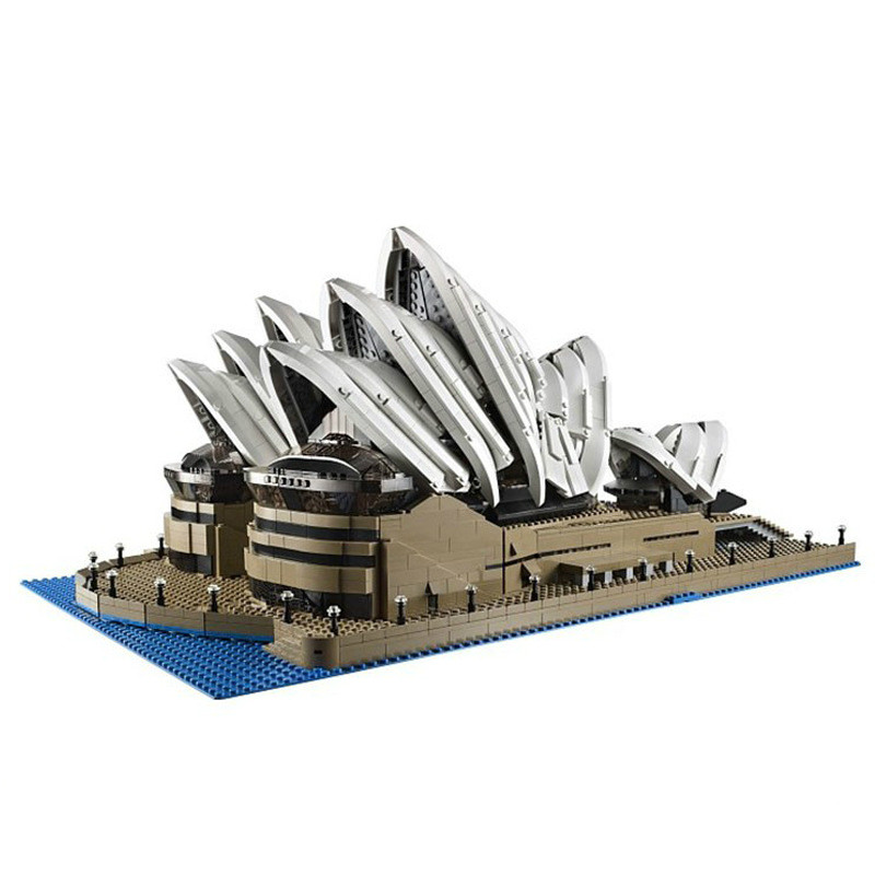 LEPIN 17003 Creator Sydney Opera House Model Building Blocks Toys Kids Gift educational for children Compatible Legoe 10222 lepin city town city square building blocks sets bricks kids model kids toys for children marvel compatible legoe