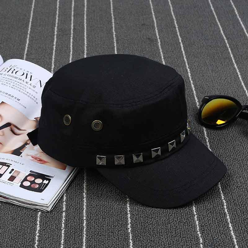 cda8c4103df JTVOVO Outdoor buckle Sports hat Unisex casual Baseball cap Hat Women s Sun hats  Men s Fashion Adjustable Cotton flat caps-in Baseball Caps from Men s ...