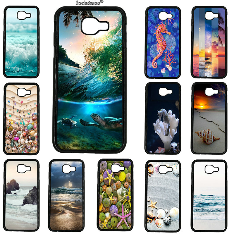 Colorful Seashell Tropical Island Phone Case Hard PC Cover for Samsung Galaxy A3 A5 A7 A8 A9 2016 2017 2018 Note 8 5 4 3 2 Shell