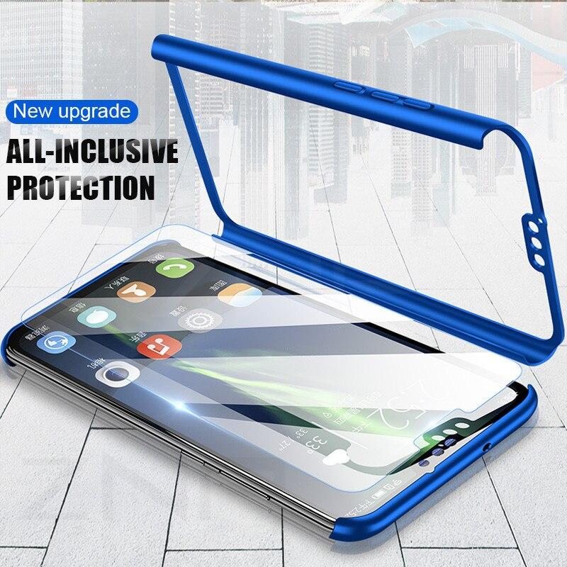 Freundschaftlich Znp 360 Grad Volle Abdeckung Telefon Fall Für Huawei Ehre 9 Lite 10 8x Max Schutzhülle Für Honor 9 Lite 10 Fall Mit Glas Capa