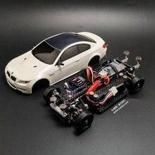 Сборный MINI-D1/28RC мини Дрифт гоночный четырехколесный задний привод пульт дистанционного управления модель автомобиля M3 модельный комплект