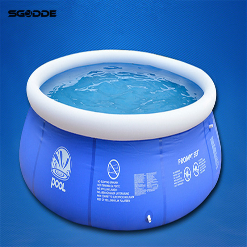 NEW Summer Water Sports Baby Kids Inflatable Swimming Pool  PVC  Portable Swim Family Play Pool Children Bath Tub Kids toy 2017 summer funny games 5m long inflatable slides for children in pool cheap inflatable water slides for sale