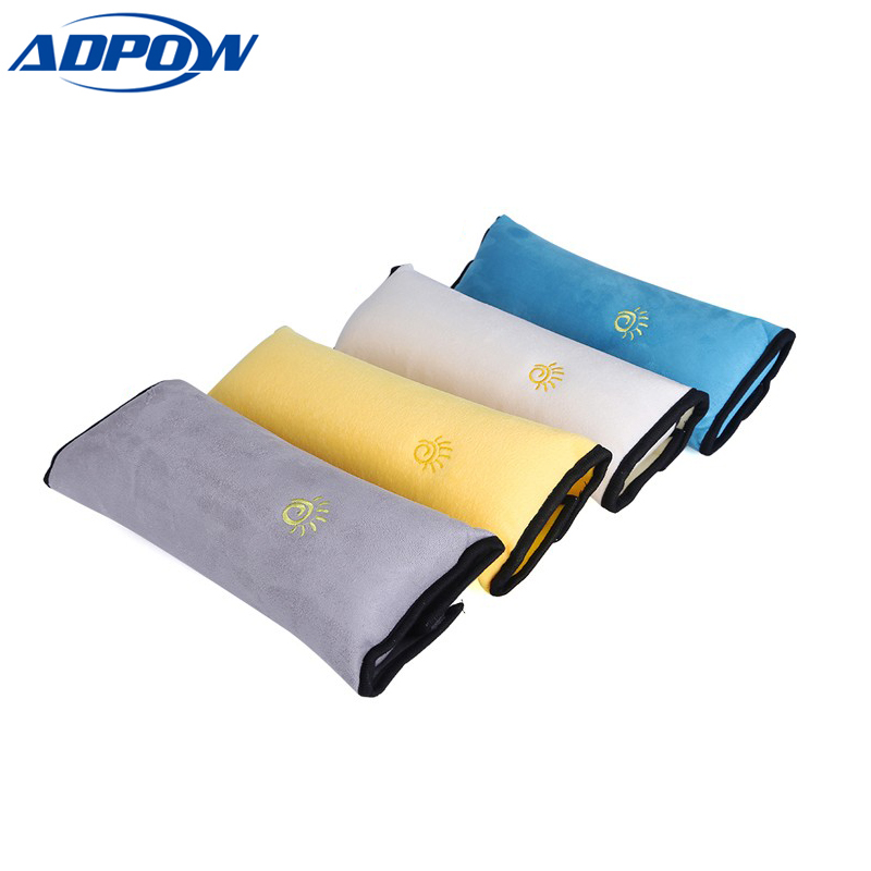 Baby Safety Strap Car Seat Belts Pillow Protect Shoulder Pad Car Safe Fit Seat Belt Adjuster Device Auto Safety Belt Cover ...
