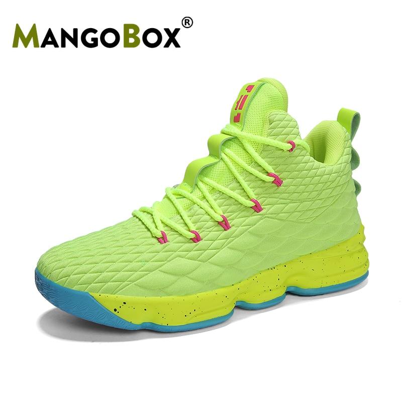 2019 marque hommes femmes Basket-ball chaussures en plein air grande taille Basket-ball chaussures haut garçons Basket-ball bottes de luxe enfants Basket-ball chaussures