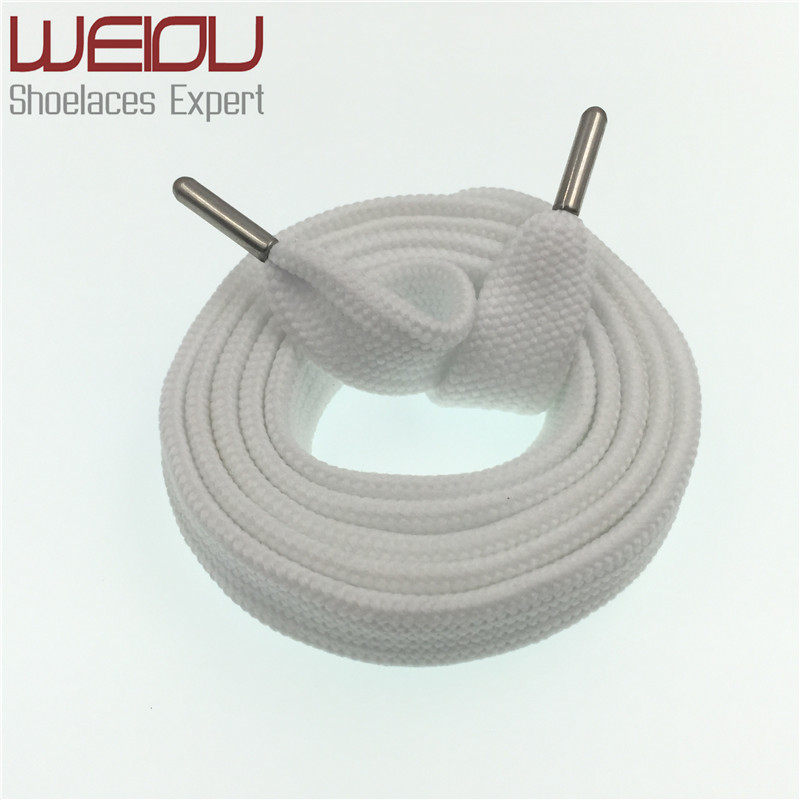 Weiou Sneaker Coloured Trainer Crazy Athletic FAT Designer Flat Wide Boot Laces Strings 125cm 49 X