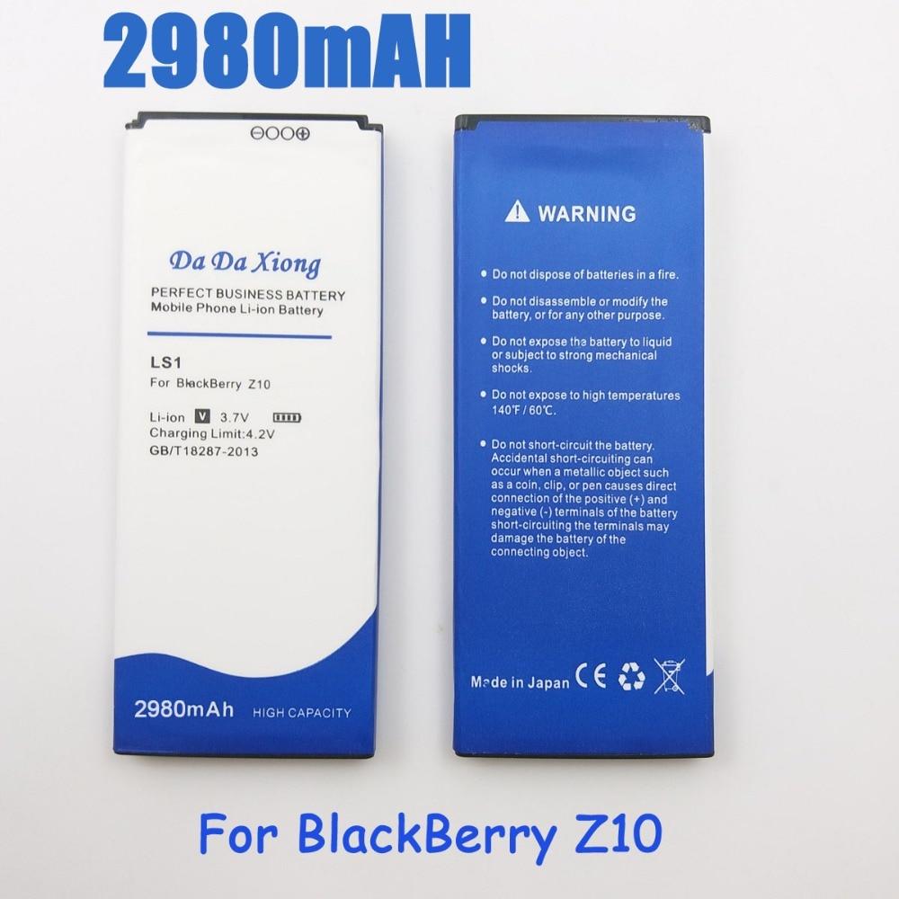US $11 29 5% OFF|2980mAh LS1 LS 1 Battery for BlackBerry Z10 STL100 2 Z10  LTE STL100 3 Z10 STL100 1-in Mobile Phone Batteries from Cellphones &