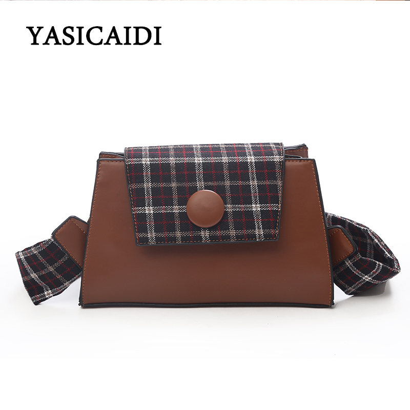 New Arrival High Quality PU Leather Women Bag Shoulder Bags Plaid Patchwork Handbag Large Capacity Metal Top-handle Tote Bags 2017 new arrival women envelope shoulder bag high quality pu leather messenger bags fashion style women bag yellow st9340
