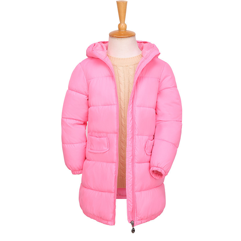 weiqinniya Girls Down Parkas Jackets Winter Jacket Girl Fashion Children Thick Parka Coat Russian For Boy Down Hooded Jacket Kid 2018 winter new children s down jacket fashion long hooded boy thick jacket down