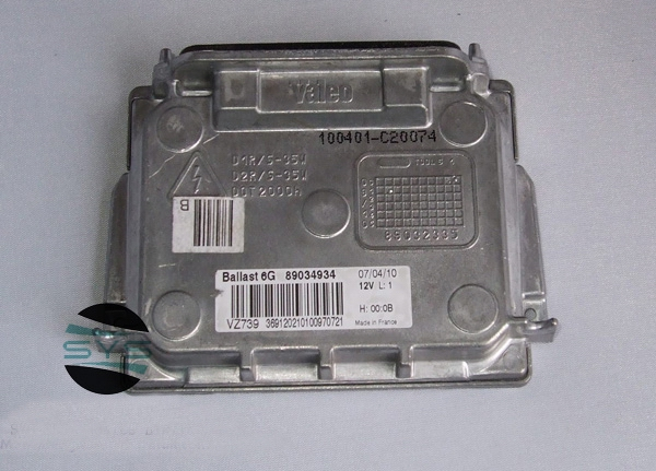 Used Original 6G 7pin D1S HID Q7 Xenon Headlight Ballast Module 89034934