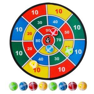 Juguete deportivo para interiores o exteriores para niños, juego Social para padres e hijos, Diana para dardos segura con 8 bolas, juego de juguetes deportivos para niños, regalo de cumpleaños