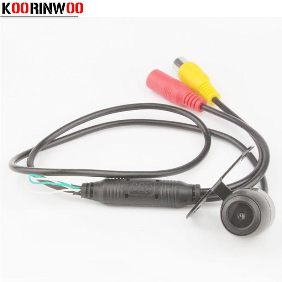KOORINWOO Автомобильная камера заднего вида/Фронтальная функция переключения камеры система парковки помощь автомобильный ПЗС запасная камер...