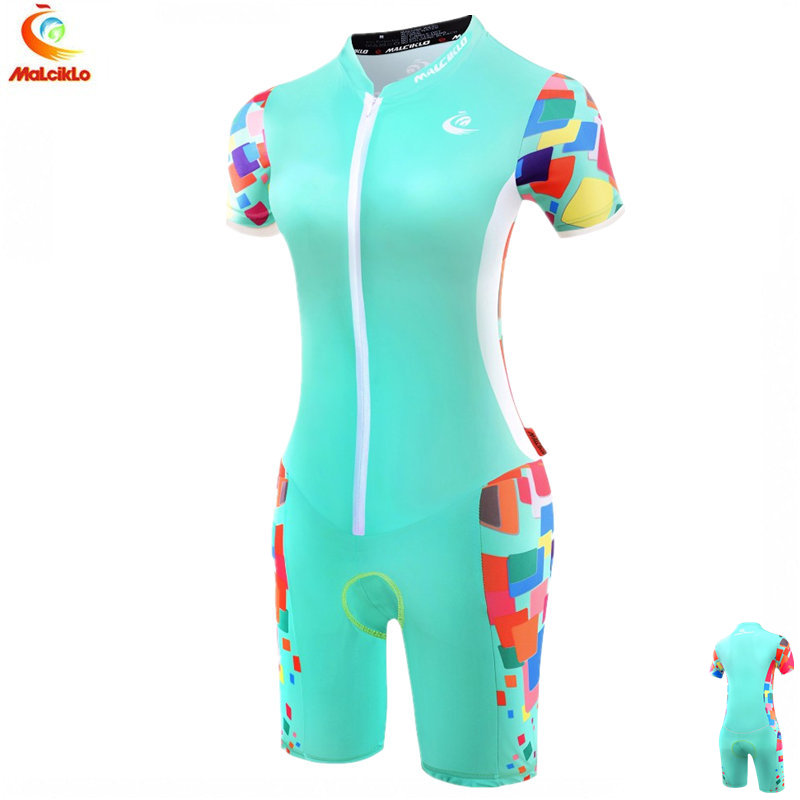 Malciklo Triathlon Suit Women 2019 High Quality Sport Jumpsuit Ropa Ciclismo Maillot Cycling Jersey Women Skinsuit