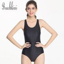 2017 NEW Arrival Sharkskin Bodysuit Monokini Women Triangle Swimwear One Piece Bathing Suit Beach Sport Swimsuit