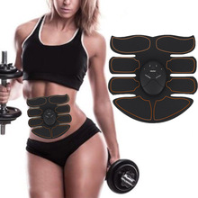 Newly Abdominal Muscle Exerciser Trainer Smart ABS Stimulator Fitness Gym Sticker Pad Slim Massager 19ing
