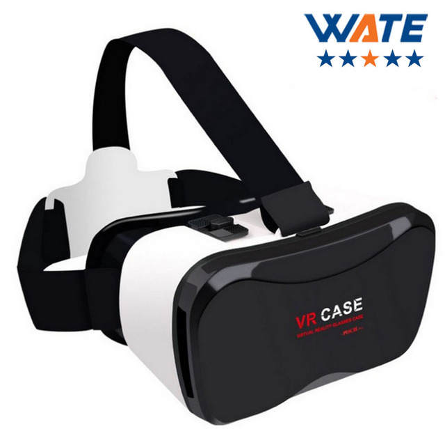 be6747faf8 VR Google Cardboard VR BOX Virtual Reality VR Glasses 3D Glasses Video  Movie Helmet 4.5-