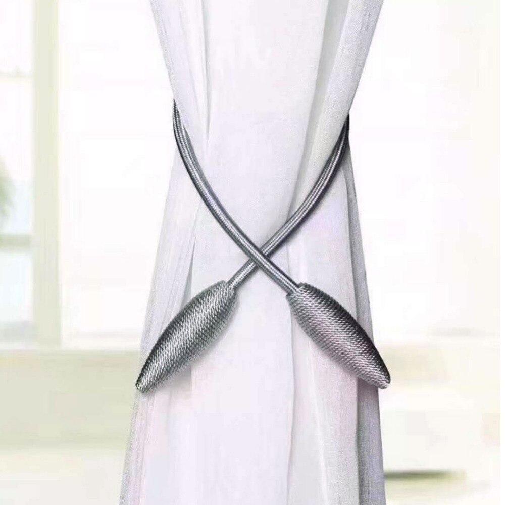2018 Curtain Tiebacks Simple Modern Curtains Rope Strap Free Style