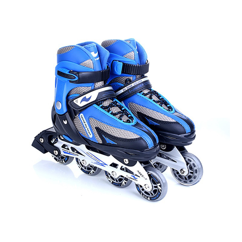 Roller Skate Shoes For Kids Inline Skates Daily Street Brush Skating Professional Girls Boys Adjustable Roller Skates Ship IA14 reniaever double roller skates skating shoe gift girls black wheels roller shoe figure skates white free shipping