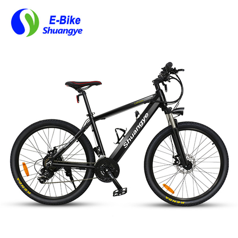 Shuangye 26 inch 36v hidden battery electric bike mountain ...