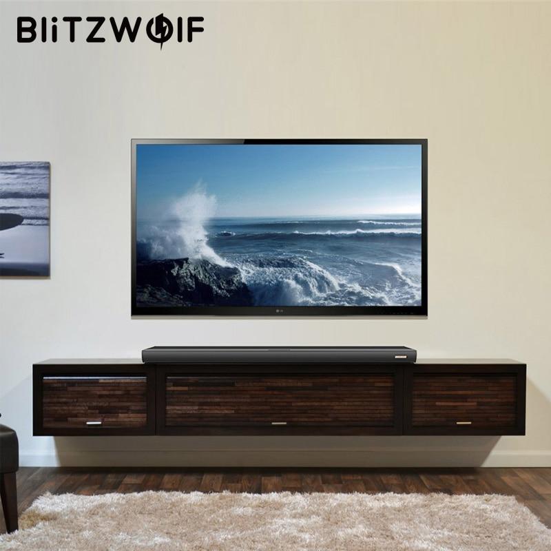 BlitzWolf 60W Bluetooth Sound Bar TV Speaker Wired and Wireless ...