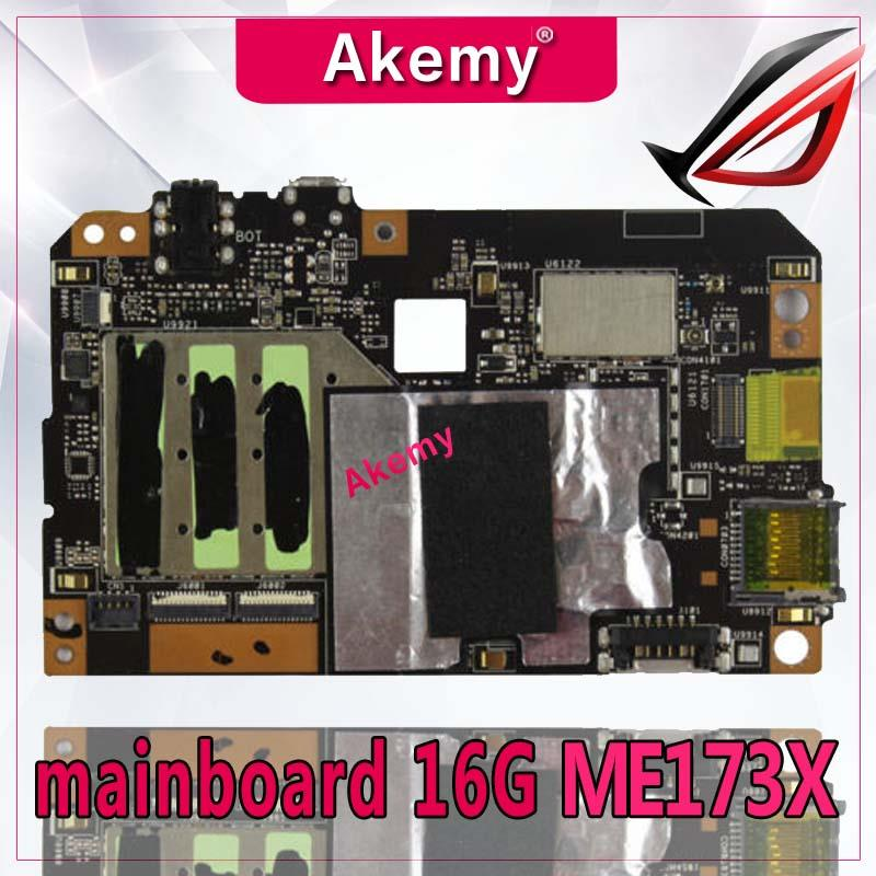 Akemy ME173X Tablet PC Motherboard For ASUS ME173X ME173 ME17 Test Original Mainboard 16G