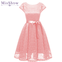 Pink Cocktail Dresses Cute Women 2019 Sleeveless Short Vestidos Plus Size Sexy Lace Homecoming Dress Women Cocktail Dresses