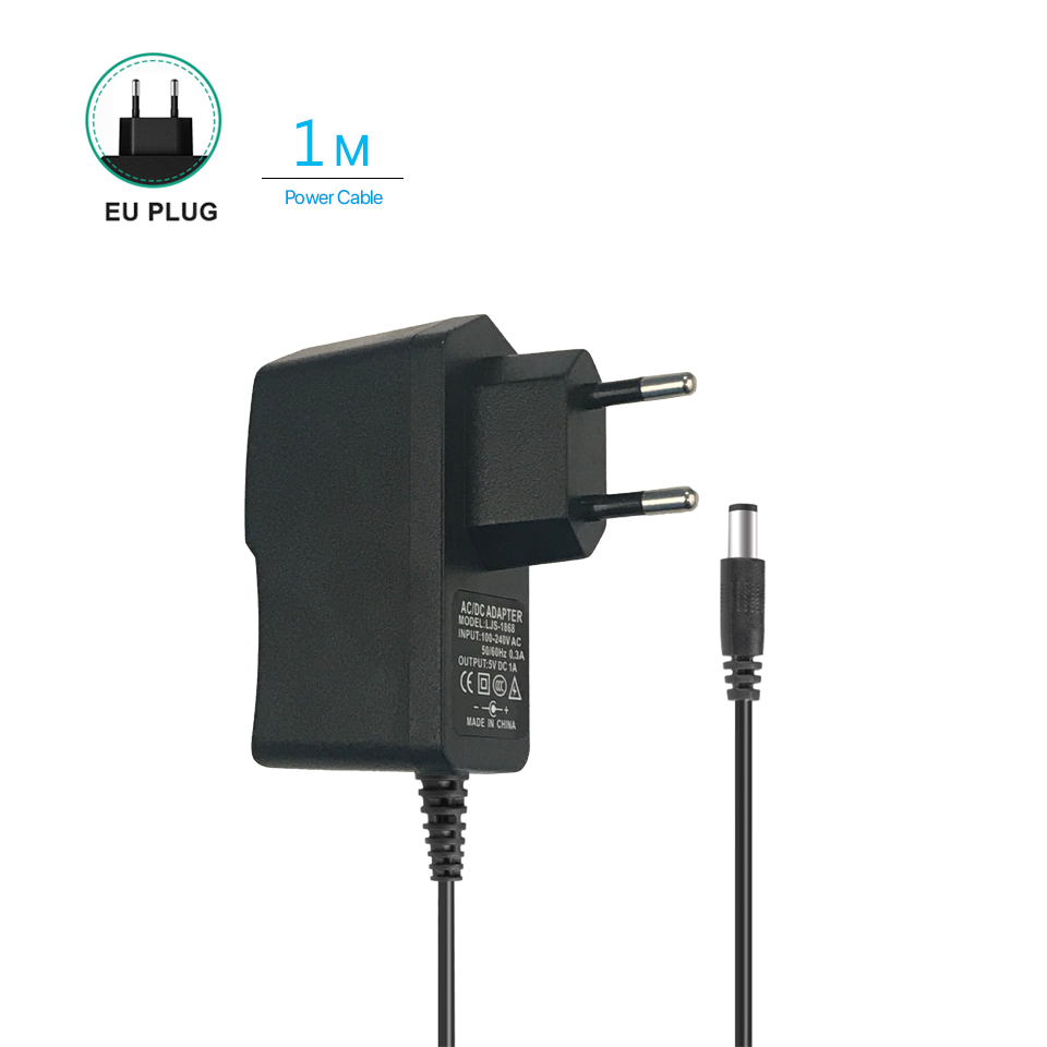 DC 12V 1A New AC 100V-240V Converter Power Adapter 1000mA Power Supply DC Adapter Plug For AU US UK EU 5.5mm X 2.1mm