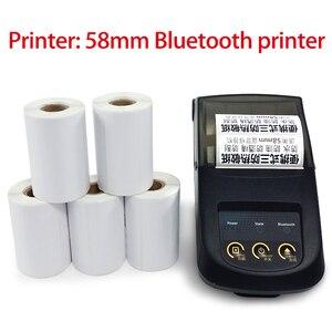 Image 5 - Adesivi per etichette termiche direttamente, 10 rotoli, nucleo 13mm, diametro esterno 40MM, adatto per etichette termiche Bluetooth 40x30 57x40 57x30 57x20
