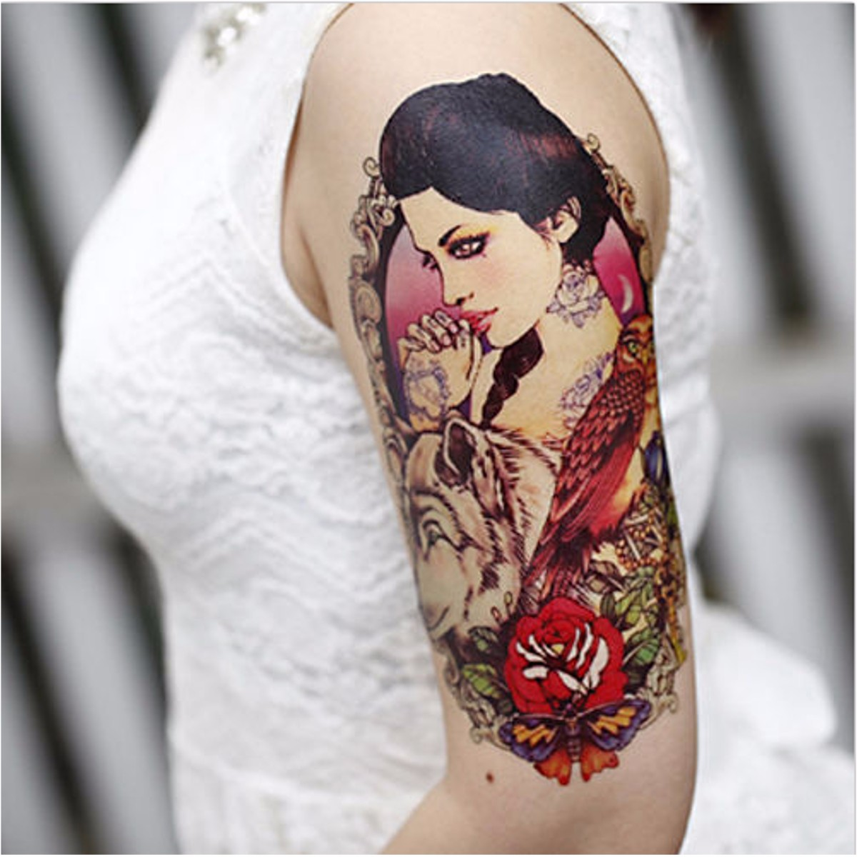 Online buy wholesale 3m waterproof spray from china 3m for Wholesale temporary tattoos