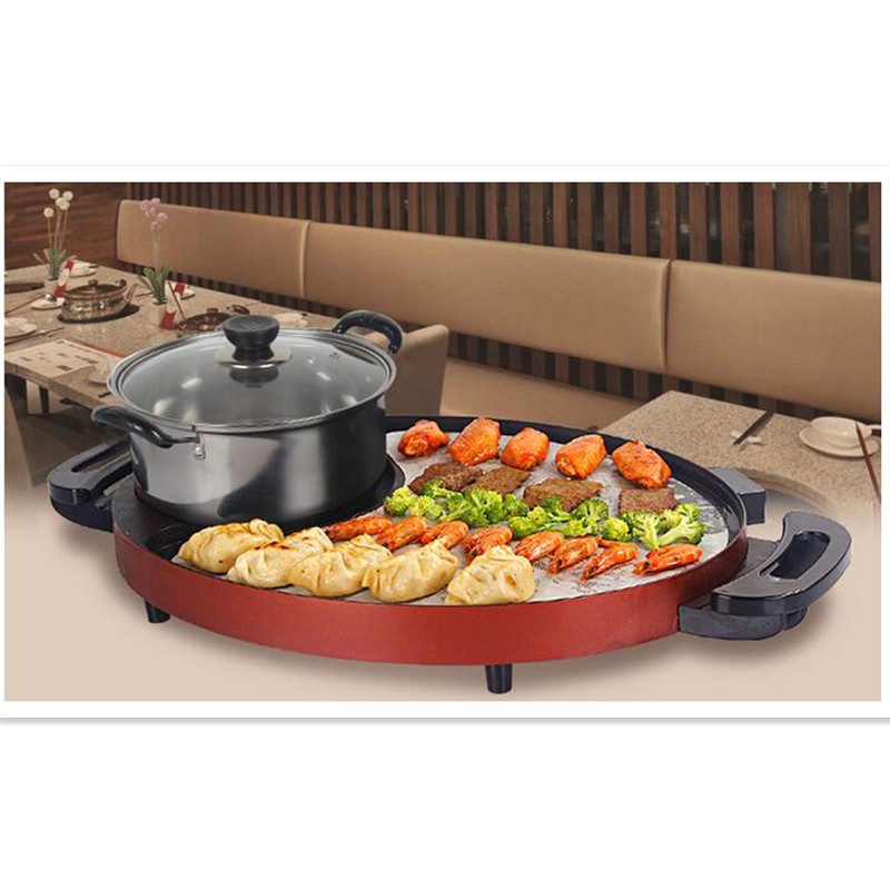 Home Appliance Parts Beautiful Df-27 Korea Modern Constant Temperature Electric Frying Pan Household Smokeless Frying Machine Multifunctional Small Frying Pan