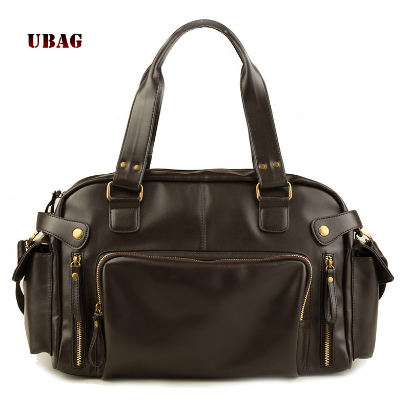 2018 Fashion Men Soft PU Leather Shoulder Bags Vintage Cross body bag Business Messenger Bag Casual big space handbag Male Bags vintage men messenger bag genuine leather casual handbag business laptop cross body shoulder bags retro male briefcase