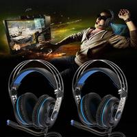 SADES A7 USB Wired Headphone Over Ear Gaming Headset With Mic Microphone Professional Gaming Headphone Earphone