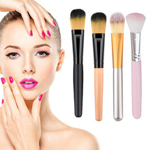 цена на Flat Foundation Makeup Brush HD Application Blending of Liquid Cream Brush KG66