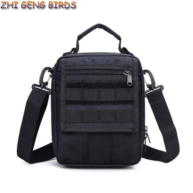 Waterproof Nylon Small Handbags Men Shoulder Messenger Bag Tactics Camouflage Military Bags