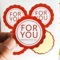 Custom Logo Text Paper Stickers Label Print Glossy Matte Paper Transparent PVC Sticker Printing