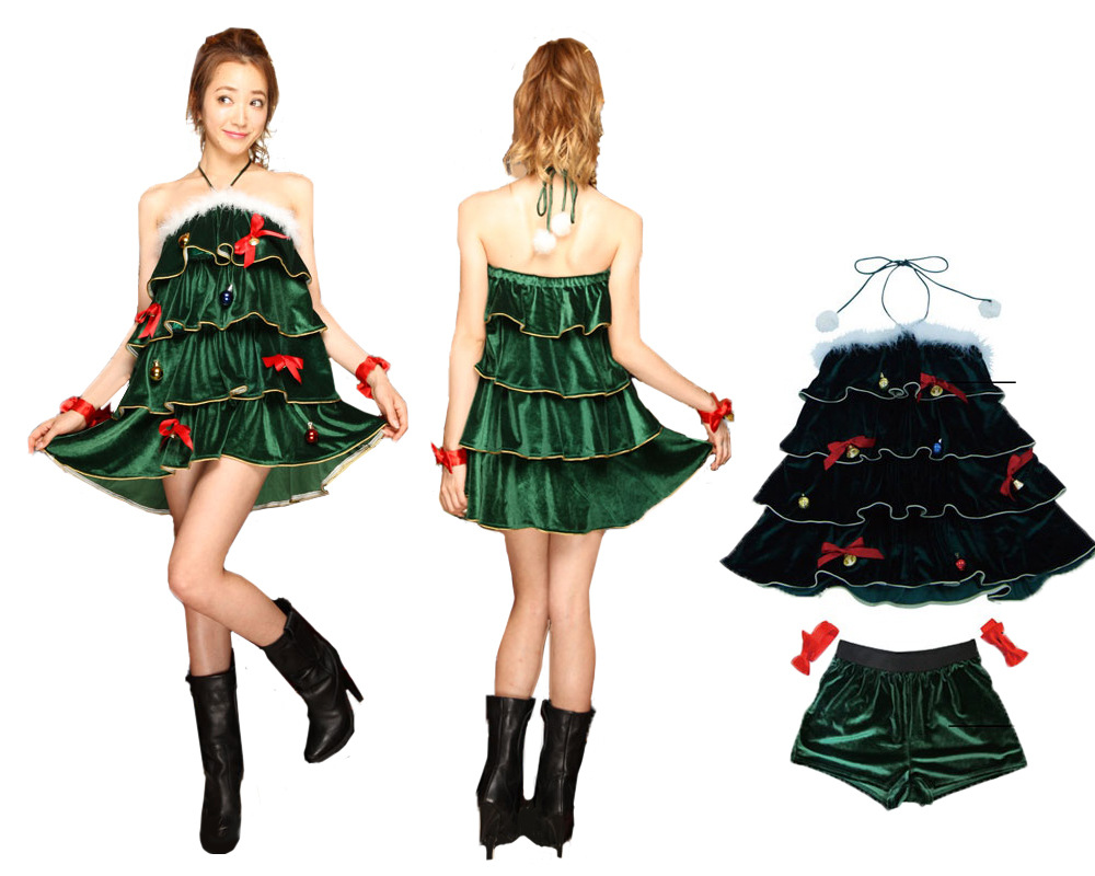 This celeb was caught in a very merry holiday costume u can you