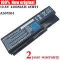 10.8 В AS07B51 оригинальный Аккумулятор для Ноутбука acer Aspire AS07B31 5520 5720 5920 Г 5930 Г 6920 Г 7520 Г 7330 7720 5930 Г 6930 AS07B42