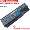 10.8V AS07B51 original Laptop Battery for acer Aspire AS07B31 5520 5720 5920G 5930G 6920G 7520G 7330 7720 5930G 6930 AS07B42